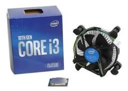 Título do anúncio: Processador Intel Core I3-10100 De 4 Núcleos E 3.6ghz