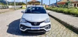Título do anúncio: Etios Platinum Sedan 1.5 2017/2018 Flex Automático