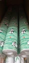 Título do anúncio: Temos Papel Parede Adesivo AutoColante com estampa de Panda