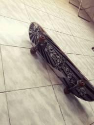 Título do anúncio: Skate semi-nova, rolamentos e borrachas novas!!! Preço 50 reais