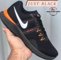 nike just black