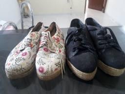 Vendo sapatos usado apenas 1 vez