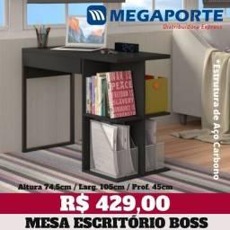 Título do anúncio: Mesa de Computador Com Estrutura em Aço ( 2 cores) Entrega Grátis