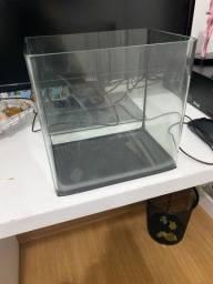 Aquário Vidro Curvo Crystal Clear Ocean Tech - 7 Litros