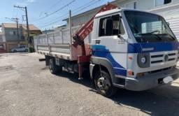 Título do anúncio: Caminhão 8-150 delivery com Munck
