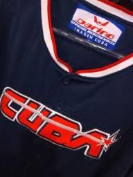 Camisa Baseball Cuba Original