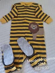 Título do anúncio: Macacão Pijama Carter's 12M
