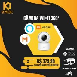 Título do anúncio: Câmera Xiaomi Wi-fi 360° compatível com Alexa