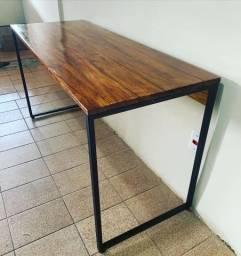 Título do anúncio: Mesa escrivaninha estilo industrial