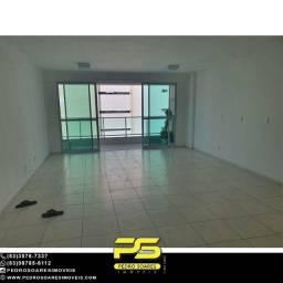 Apartamento com 3 dormitórios à venda, 127 m² por R$ 950.000 - Tambaú - João Pessoa/PB