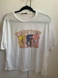 Título do anúncio: Camisa Together da SHEIN