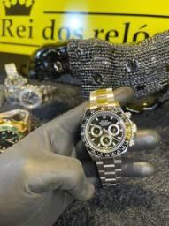 Rolex Daytona com detalhe preto novo