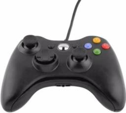 Controle Xbox 360 Pc Com Fio