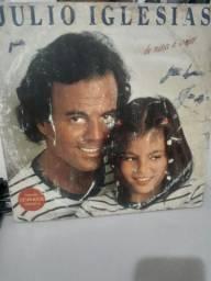 Disco Vinil - Júlio Iglesias - De nina a mujer- Relíquia!!! Perfeito Estado
