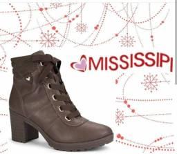 Promoção Bota Coturno Feminino Mississipi X9302