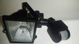 REFLETOR COM SENSOR + LAMPADA