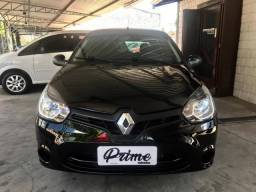Renault Clio 1.0 Expression, completo + airbag e abs - 2015