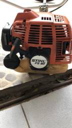 Roçadeira manual à gasolina 2t Stihl