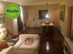 Apartamento à venda com 3 dormitórios em Lagoa, Rio de janeiro cod:817649