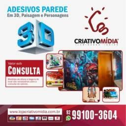 Gráfica Criativo Mídia - Adesivos Parede e 3D