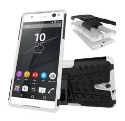Capa Capinha Case Sony Xperia C5 Ultra Anti Impacto Híbrida