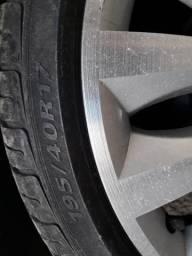 Passo rodas aro 17 com suspensão preparadas palio bolha