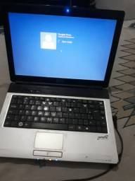 Notebook funcionando, teclado ruim