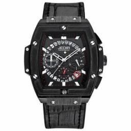 Relógio Jedir Black Multi Movimento