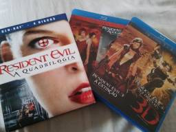 Bluray Box Resident Evil e Walking Dead