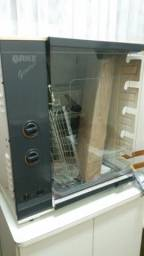 Churrasqueira à Gas Arke Genius giratória com acendedor automático pra 5 espetos