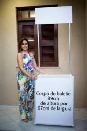 Balcão para ações promocionais e comerciais em Fortaleza-CE
