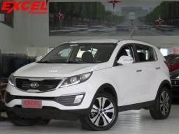 Kia Sportage Ex 2.0 16v 4x2 Flex Aut 2013 Branco - 2013