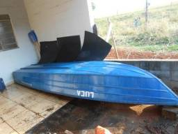 Barco 5 metros alumar + Motor 15hp evinrude - 1990