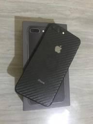 IPhone 8 Plus Cinza Completo Garantia Até Dezembro