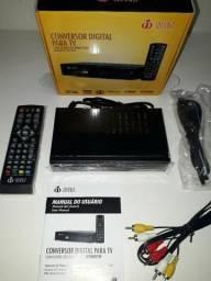 Conversor Digital para TV com visor de Led HDMI e USB Infokit ITV-500