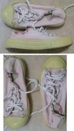 Lote calçados menina tamanho 28 e 29