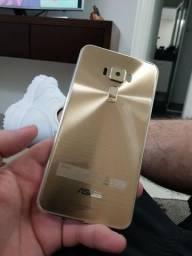 Zenfone 3 - dourado - 64gb - na garantia com seguro