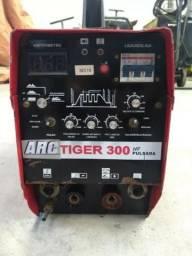 Máquina de solda Tig 300a DC Sumig