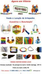 Vendas, Acessórios, Manutenção e Locação de Brinquedos, em Vitória - PE