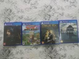 Kit 4 Jogos PS4 Semi novos