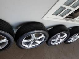 Rodas aro 19 furacão 5 x 100 com pneus