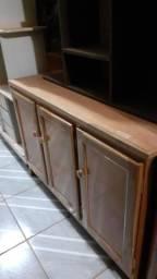 Balcão de cozinha de madeira novo 400$