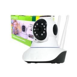 Câmera IP Sem Fio Wifi HD 720p Robo Wireless