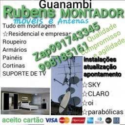 Montador de móveis estalador antena Guanambi