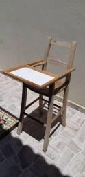 Cadeira Bebe madeira
