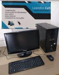Computador completo (placa mae 1155 ) 4 gb de memoria com jogo