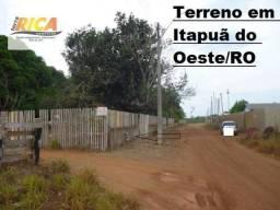 Terreno à venda no centro de Itapuã do Oeste/RO