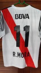 Camisa River Plate #11 Mora