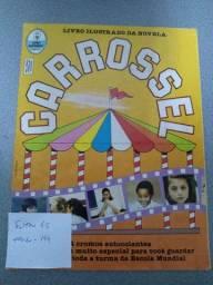 Álbum de figurinhas Carrossel