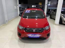 Fiat Mobi Easy 1.0 2017 Vermelho Completo